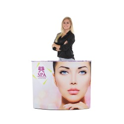 EZ Fabric Counter – Curved SINGLE Graphic Package